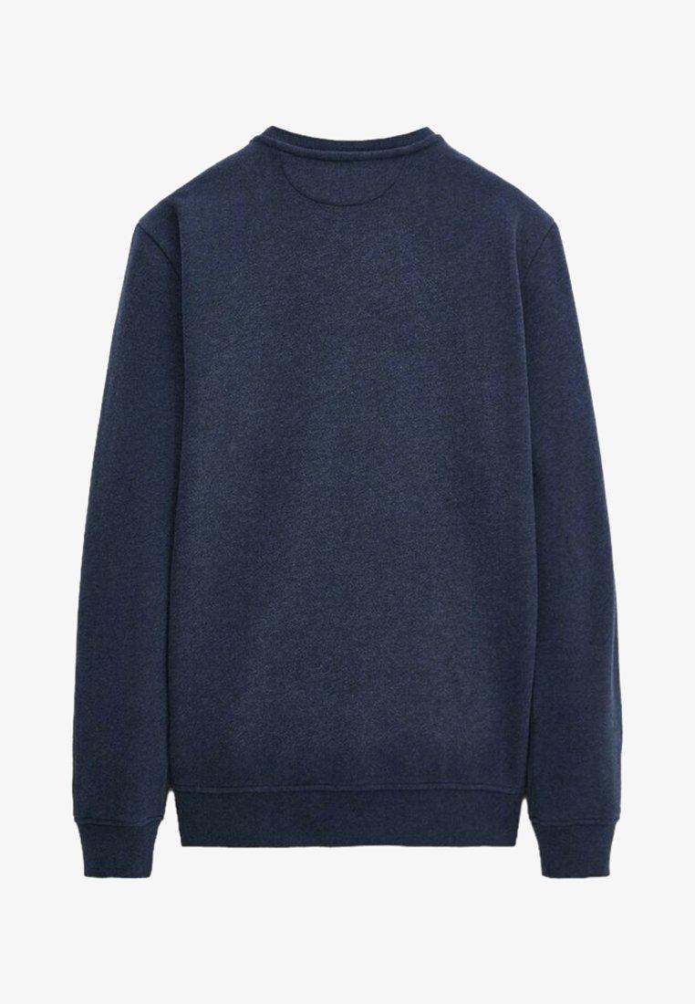 Massimo Dutti - MIT KONTRASTDETAIL - Sweatshirt - blue