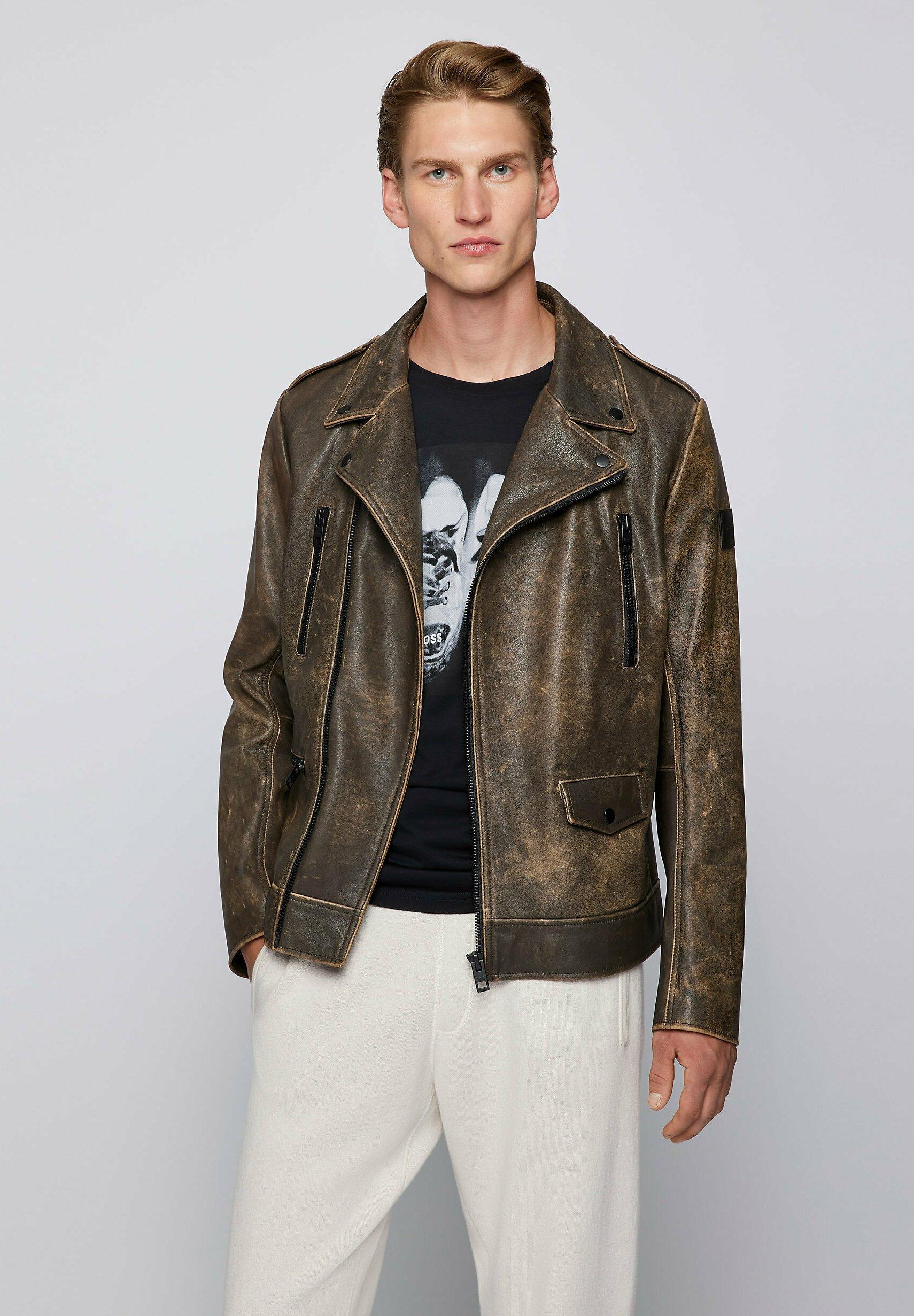 Men JIMIN - Leather jacket