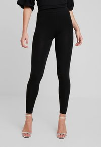 ONLY - ONLLIVE LOVE NEW 2 PACK - Leggings - Trousers - black