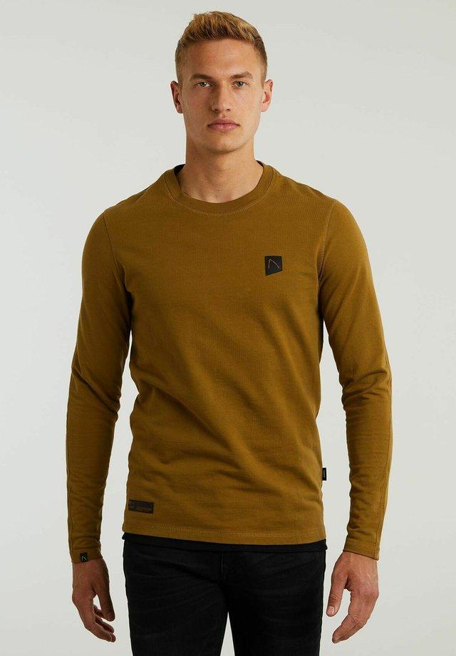 RYLAN - Long sleeved top - brown