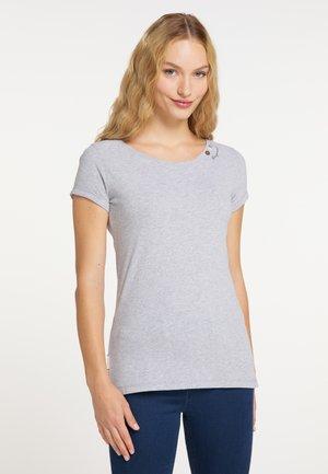 FLORAH A ORGANIC - Basic T-shirt - light grey