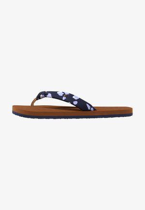 Pool shoes - blauw aop