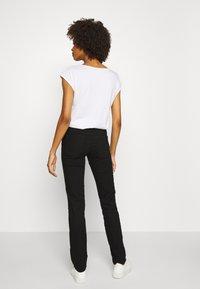 GAP - Jeans straight leg - basic black - 2