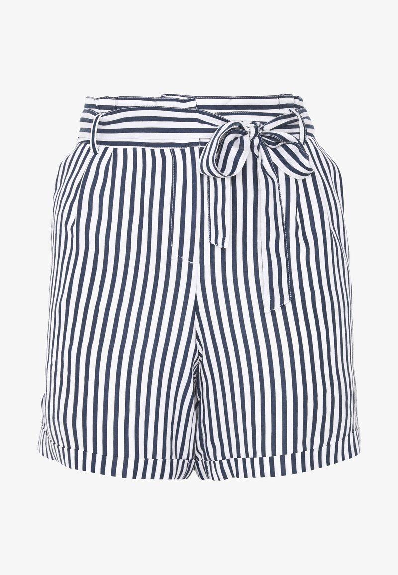 Betty & Co - Shorts - white/blue