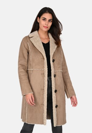 RIVALITY - Classic coat - gray taupe