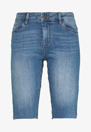 VMSEVEN SLIM  - Shorts - medium blue denim