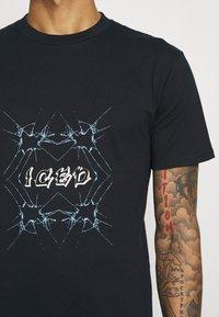 YAVI ARCHIE - ICED - Print T-shirt - navy - 4