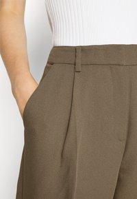 Bruuns Bazaar - PARI DAGNY - Trousers - earth brown - 7