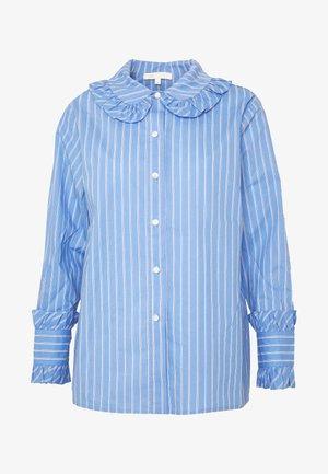 Button-down blouse - bleu clair