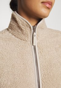 Jack Wolfskin - HIGH CLOUD COAT - Fleecejas - dusty grey - 5