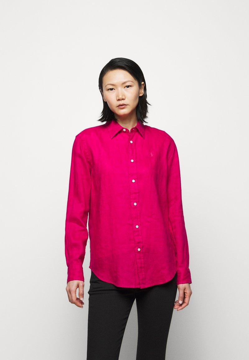 Polo Ralph Lauren - PIECE DYE - Button-down blouse - sport pink