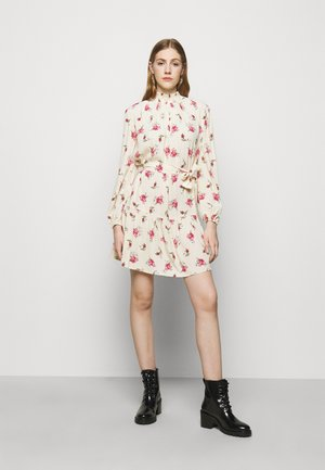 RISOULA - Day dress - rose/ecru