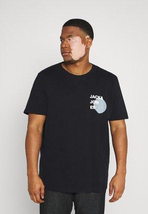 JJAARHUS TEE CREW NECK   - T-shirt print - black