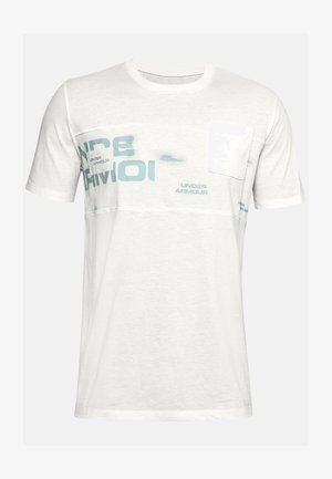 Print T-shirt - onyx white