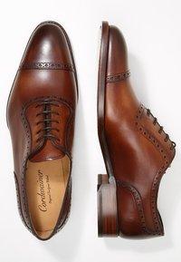 Cordwainer - JULIEN - Elegantní šněrovací boty - elba castagna - 1
