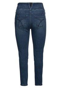 Sheego - Slim fit jeans - dark blue denim - 5