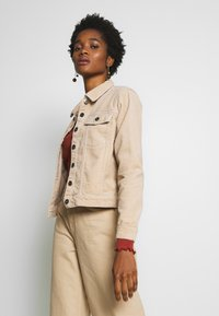 JDY - JDYKIRAZ JACKET  - Summer jacket - light brown - 0