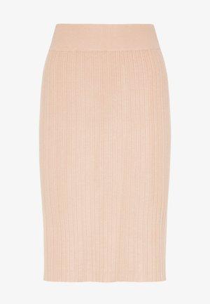 Falda de tubo - nude