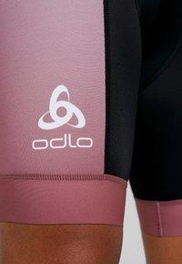 ODLO - SHORTS - Punčochy - roan rouge - 4