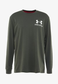 Under Armour - PERFORMANCE ORIGINATORS TEE - Long sleeved top - baroque green - 3
