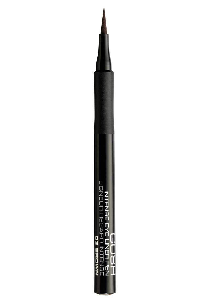 Gosh Copenhagen - INTENSE EYE LINER PEN - Eyeliner - 03 brown