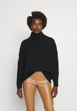 ZURLO - Stickad tröja - black