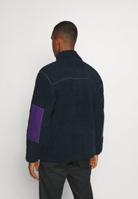 Dickies - CHUTE - Fleecejakker - dark navy/lilac - 2
