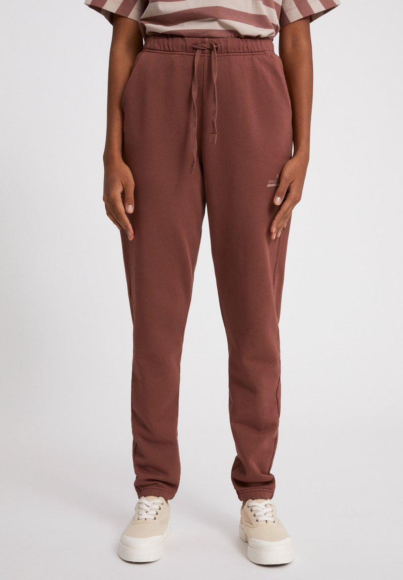 ARMEDANGELS - IVAA EARTHCOLORS® - Tracksuit bottoms - natural dusty rose
