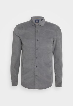 ALPHA SPREAD COLLAR - Shirt - gray heather