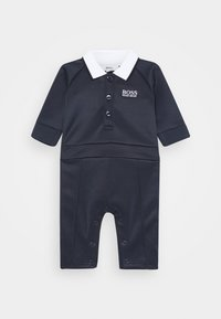 BOSS Kidswear - ALL IN ONE BABY - Overal - navy - 0