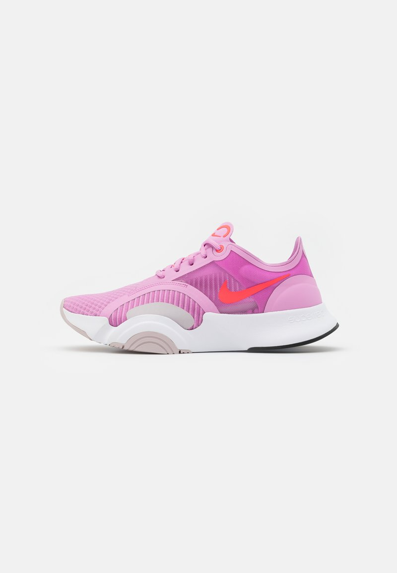 Nike Performance - SUPERREP GO - Sports shoes - beyond pink/flash crimson