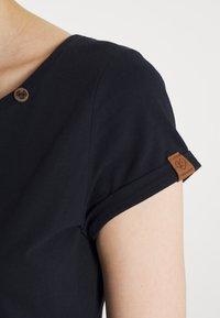 Ragwear - FLORAH - Print T-shirt - navy - 3