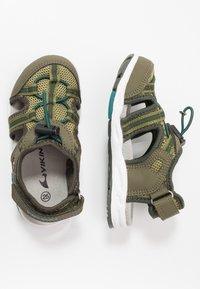 Viking - THRILL - Walking sandals - olive/huntinggreen - 0
