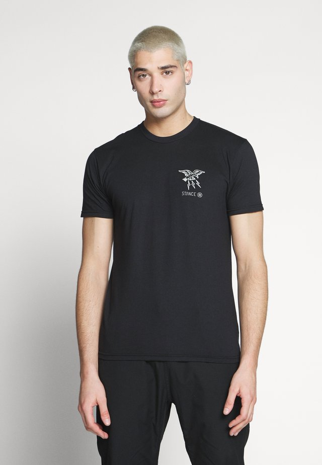 CLAW - Camiseta estampada - black
