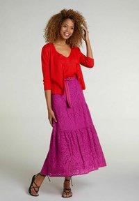 Oui - A-line skirt - festival fuchsi - 1