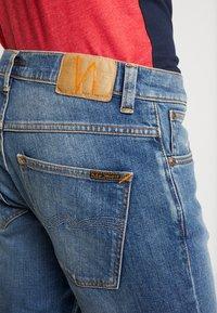 Nudie Jeans - GRIM TIM - Slim fit -farkut - pale shelter - 5
