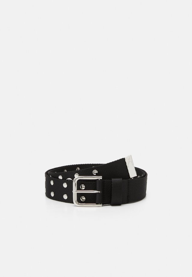 JUNI STUDDED BELT - Belt - black