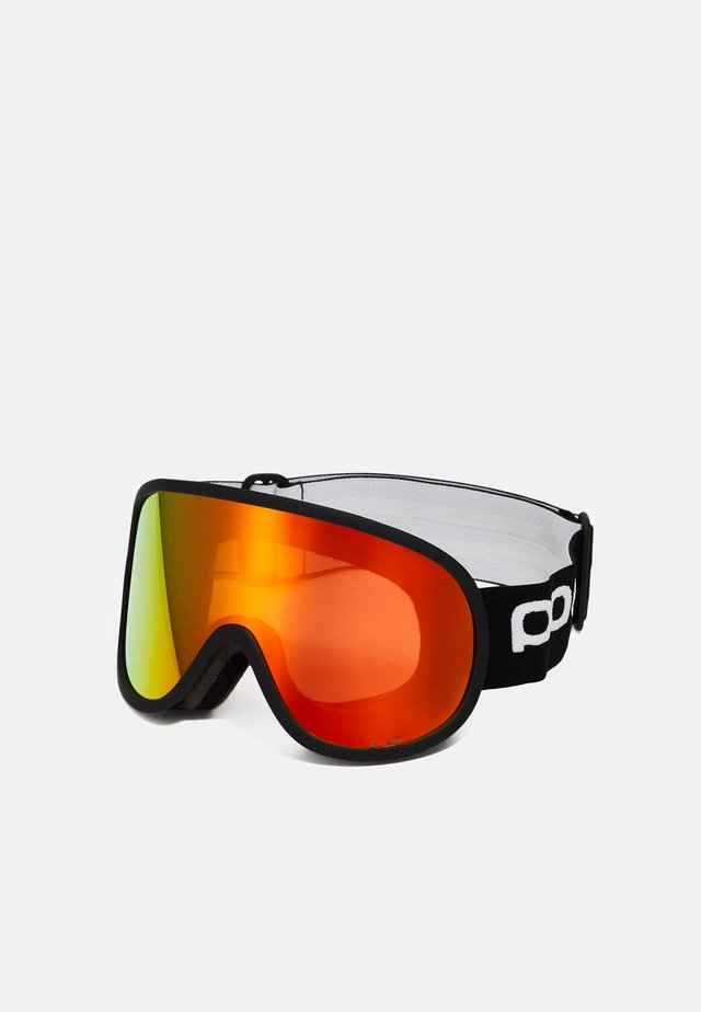 RETINA BIG CLARITY UNISEX - Laskettelulasit - uranium black/spektris orange