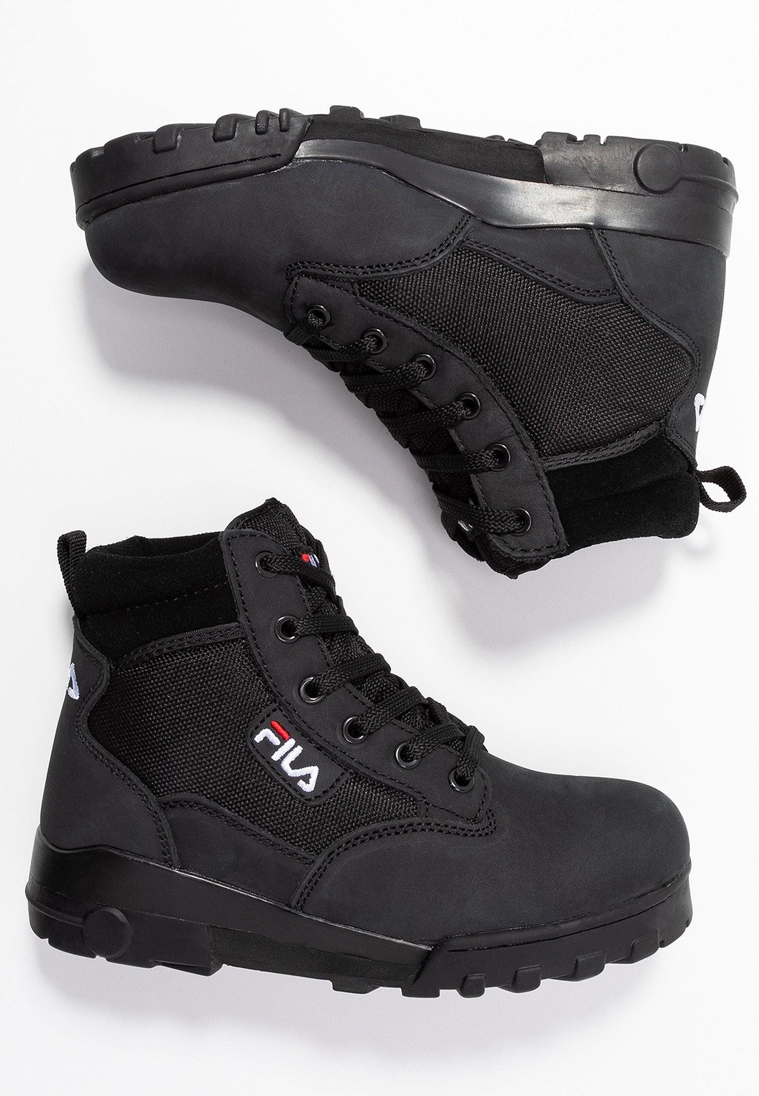 Fila Grunge Ii Mid - Ankelboots Black/svart