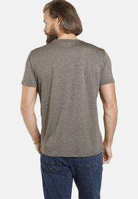 Jan Vanderstorm - TAIT - Print T-shirt - oliv melange - 1