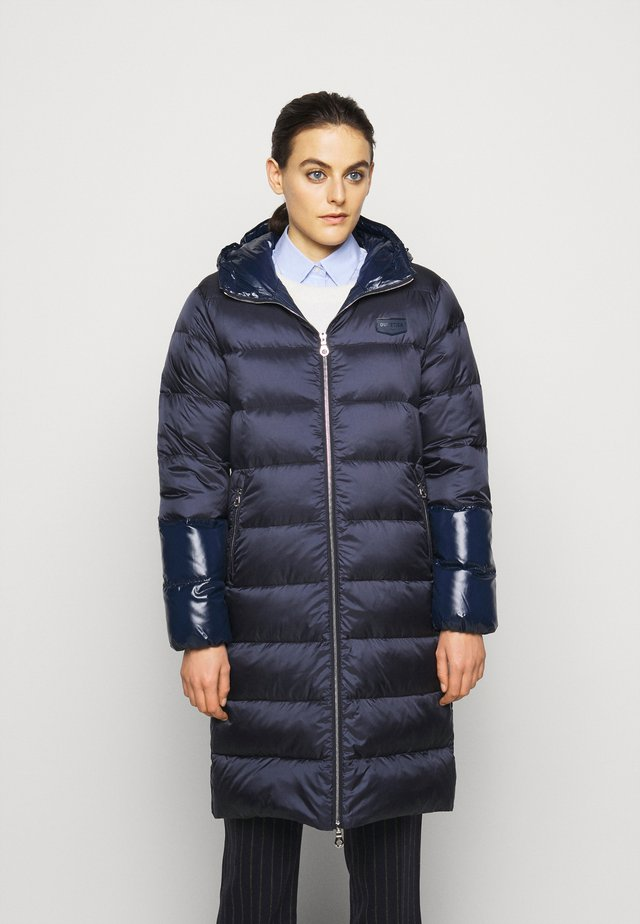 MIAPLACIDUS - Down coat - blu scuro