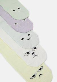 Monki - Socks - purple/yellow/green/white/blue/grey - 1