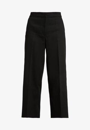 LARK - Trousers - black