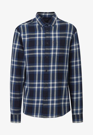 Skjorte - blue multi check