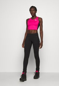 The North Face - WOMENS ACTIVE TRAIL TANKLETTE - Sports shirt - pink/black - 1