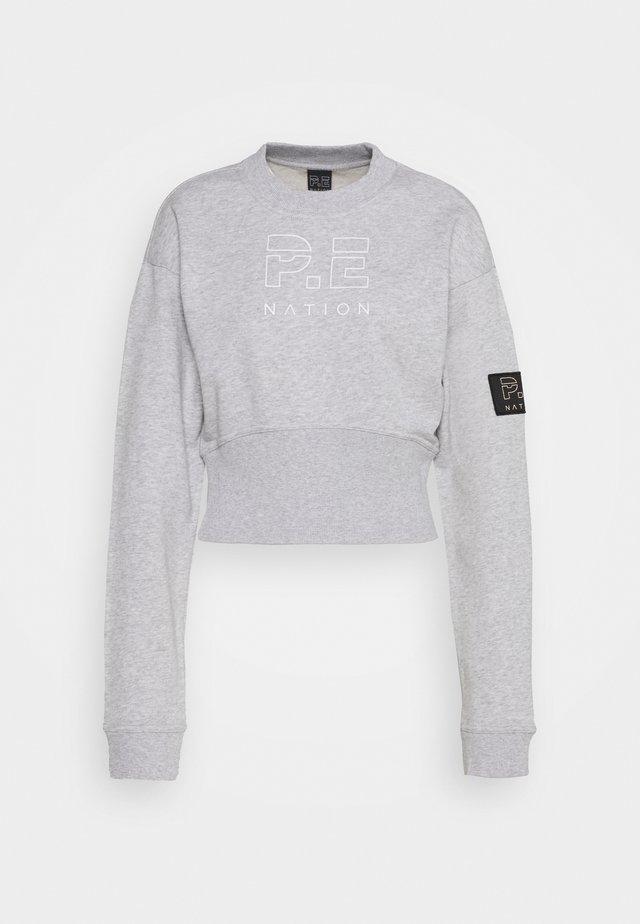 SPRINT SHOT - Sweatshirts - grey marl