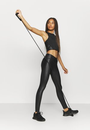 SHINE LONGLINE MUSCLE BACK  - Top - black