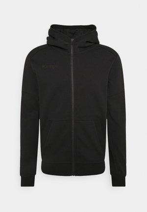 STATUS HOOD JACKET - Zip-up sweatshirt - black