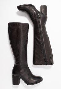 MJUS - Vysoká obuv - nero - 3