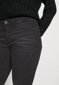 Noisy May - NMKIMMY ANKLE ZIP - Jeans Skinny Fit - dark grey denim - 4